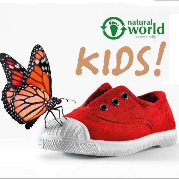 Scarpe bambino natural world