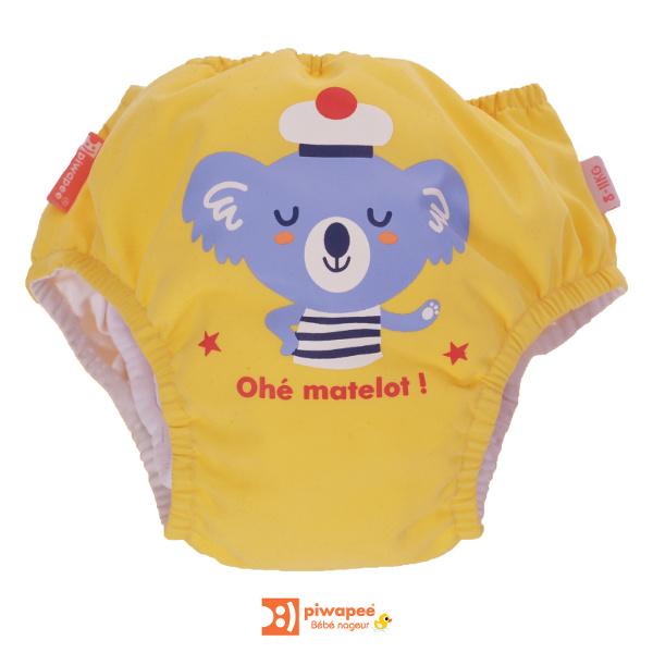 pw costume da bagno bambino cotone contenitivo koala face